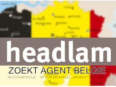 Headlam zoekt agent België